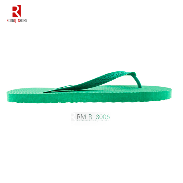 Lightweight customer logo outdoor EVA flip-flop slippers
