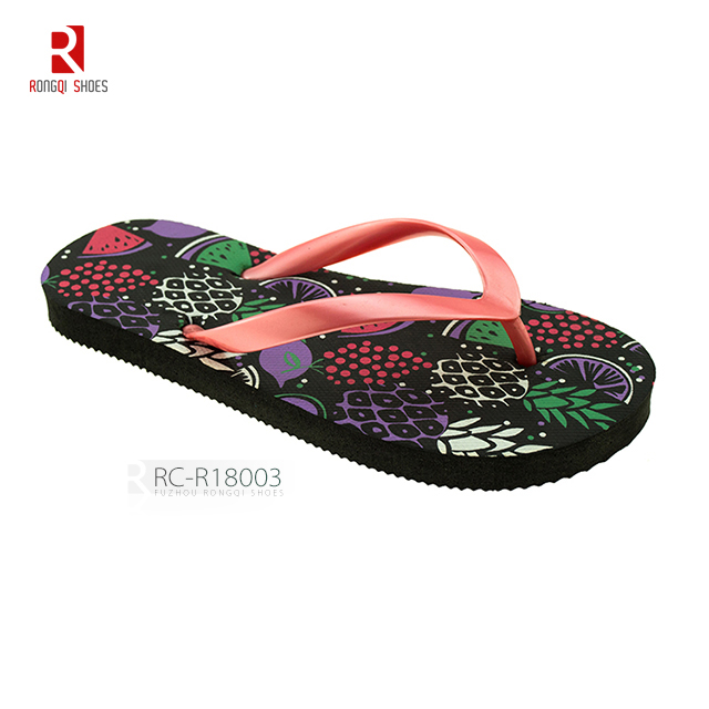 Hot selling PVC strap kid's beach PE flip-flops