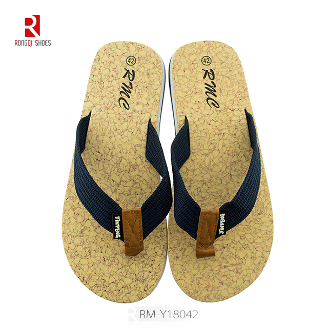 Hot sale china factory cheap men's flip flop