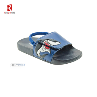 Toddler Boys & Girls Beach/Pool Slides Sandals With Back Straps