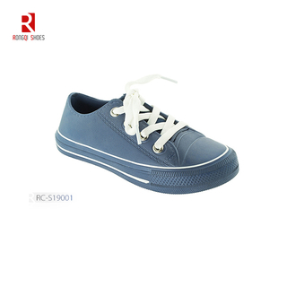 Classic wholesales unisex rubber outsole canvas shoes